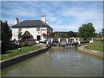SP9122 : Grand Union Canal: Grove Lock Number 28 by Nigel Cox