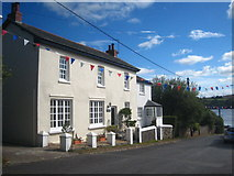 SX4563 : Houses in Bere Ferrers by Rod Allday