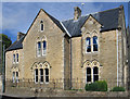 NZ2029 : Bishop Auckland - St Wilfrid's RC Presbytery - from south by Dave Bevis