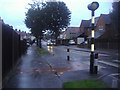 TQ2664 : Erskine Road, Benhilton by David Howard
