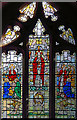 TQ4686 : All Saints, Goodmayes - Stained glass window by John Salmon