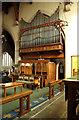 TQ4686 : All Saints, Goodmayes - Organ by John Salmon