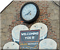 J0826 : Bar clock, Newry by Albert Bridge
