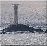 SW3125 : Longships lighthouse by Steve  Fareham