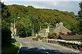 SH5841 : Prenteg, Gwynedd by Peter Trimming