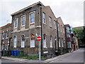 TQ3379 : Former school, Grange Walk, Bermondsey by Stephen Craven