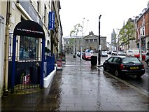 H4572 : A wet footpath, Omagh by Kenneth  Allen