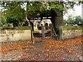 SD3501 : Lytchgate. Sefton Church by Norman Caesar