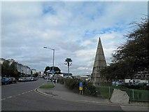 SW8132 : The Killigrew Monument Falmouth by Steve  Fareham