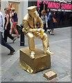 TQ3080 : Living Statue - Gold by Rob Farrow