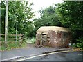 SU0061 : Restored pillbox, from the roadside by Christine Johnstone