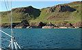 NG2405 : Tarbert Bay, Canna by Donald MacDonald