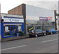 ST3288 : The Chippy and a former Peacocks shop, Maindee, Newport by Jaggery