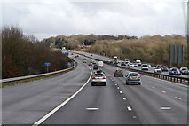 SU5407 : M27 Motorway by Martin Addison