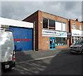 SJ6511 : Farr & Harris Ltd Plumbing and Bathrooms, High Street, Wellington by Jaggery