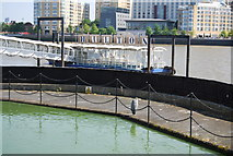 TQ3680 : Hilton Dockland Pier by N Chadwick