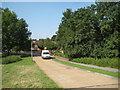 TQ5493 : Harold Hill: Priory Road by Nigel Cox