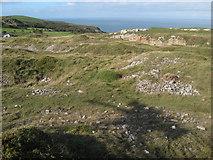 SH7783 : Quarry spoil heaps by Jonathan Wilkins