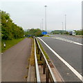 ST5789 : M48 exit slip road, Aust by Jaggery