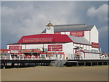 TG5307 : Britannia Pier Theatre Great Yarmouth by Richard Rogerson