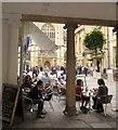 ST7564 : Cafe in Bath by Derek Harper