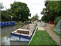 SU2764 : Work at Bedwyn Church Lock [no 64] by Christine Johnstone