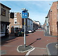 SJ4166 : Home Zone, Egerton Street, Chester by Jaggery