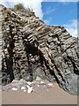 SX9355 : Fragmented rock formation, St. Mary's Bay, Brixham by Derek Voller