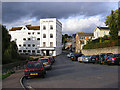 TL8641 : Walnut Tree Lane & The Mill Hotel by Adrian Cable