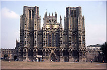 ST5545 : Wells cathedral by John Firth
