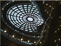 SJ3490 : The dome in Liverpool Central Library by John Allan