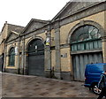 ST1876 : Trinity Street side of Cardiff Indoor Market by Jaggery