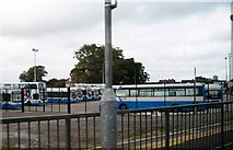 J1586 : Buses at Antrim Ulsterbus Station by Eric Jones