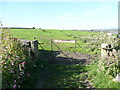 SE0820 : Stile and gate on Elland FP58 by Humphrey Bolton