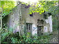 SE0820 : Ruined building at Upper Bradley Mill by Humphrey Bolton
