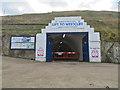 NZ8911 : Tunnel doors open by Pauline E