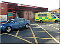 ST6377 : A&E, Frenchay Hospital, Bristol by Jaggery