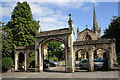 ST7747 : Bath Street archway entrance to St John the Baptist 's Church by Roger Templeman