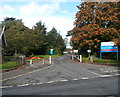 ST6377 : Entrance C Blue to Frenchay Hospital by Jaggery