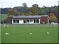 TM3863 : Saxmundham Sports Club Pavilion by Adrian Cable