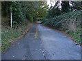 TQ0264 : Cycle track by Alan Hunt