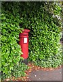 ST5672 : Victorian postbox, Bridge Road, Leighwoods by Derek Harper