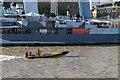 TQ3380 : HMS Belfast and Thames RIB Experience by Christine Matthews
