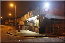 SJ3999 : Shop in Waddicar Lane, Melling by Mike Pennington