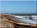 SZ9498 : Beach, Bognor Regis by Robin Webster