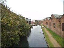 SO9298 : Lower Walsall Street Canal View by Gordon Griffiths