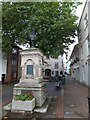 SX8060 : Diamond Jubilee drinking fountain, The Plains, Totnes by David Smith
