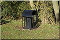 TA0344 : A litter bin on Chapel Garth, Arram by Ian S