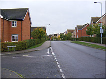 TM3763 : Brook Farm Road, Saxmundham by Adrian Cable