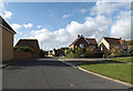 TM3863 : Brook Farm Road, Saxmundham by Adrian Cable